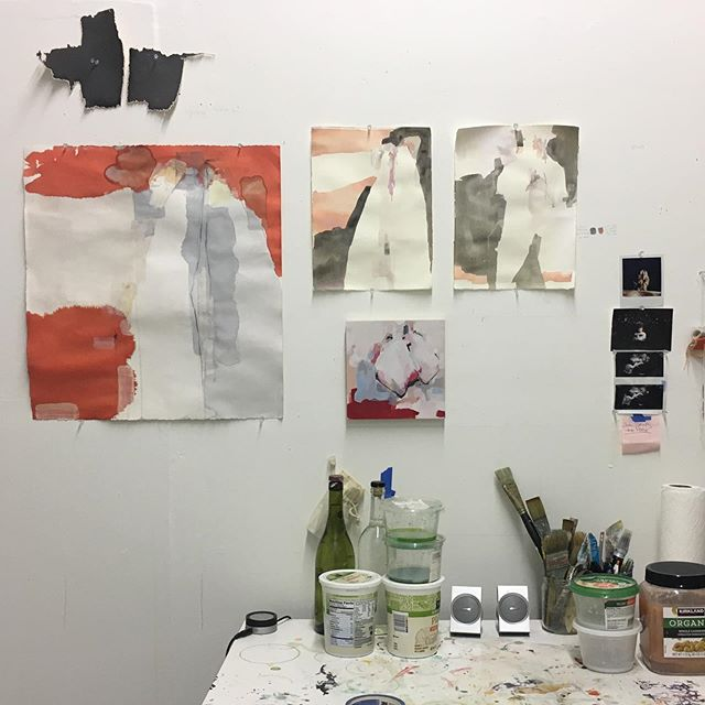 Getting ready for #yohoopenstudios2019 Tomorrow and Sunday, noon-5pm. 578 Nepperhan Ave #figurestudies #yohoartists2019 #yohoartists #yohostudios #yaw2019 #makeartnotwar