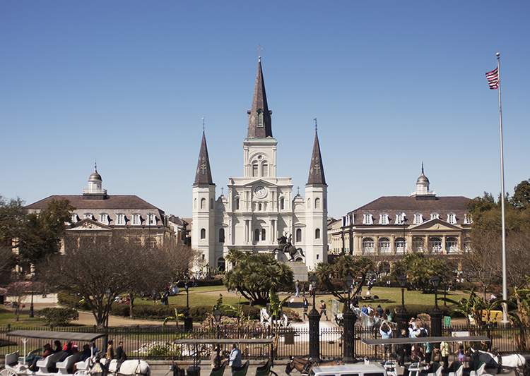 New Orleans Guide: Jackson Square St Louis Cathedral