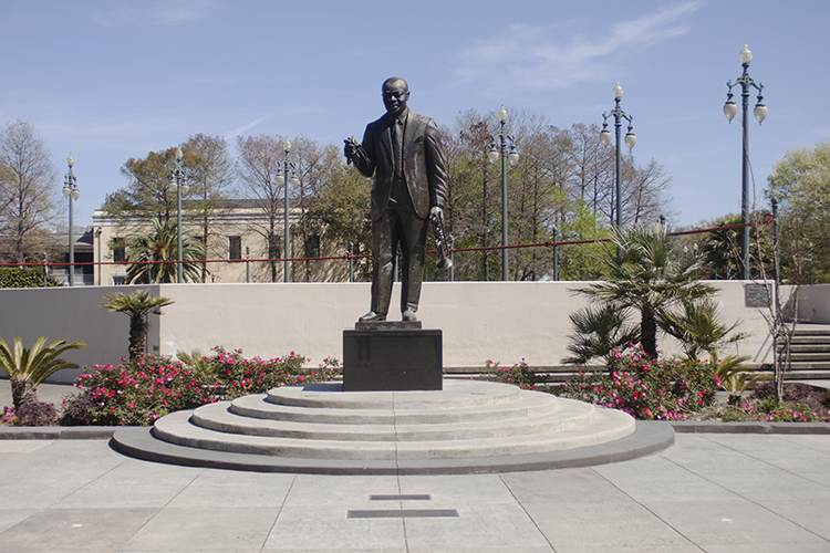 Louis Armstrong Park,701 N Rampart St - Just up the street from our AirBNB was the famous Louis Armstrong Park which has cute little bridges over waterways and fountains, and of course, a statue dedicated to Satchmo himself.