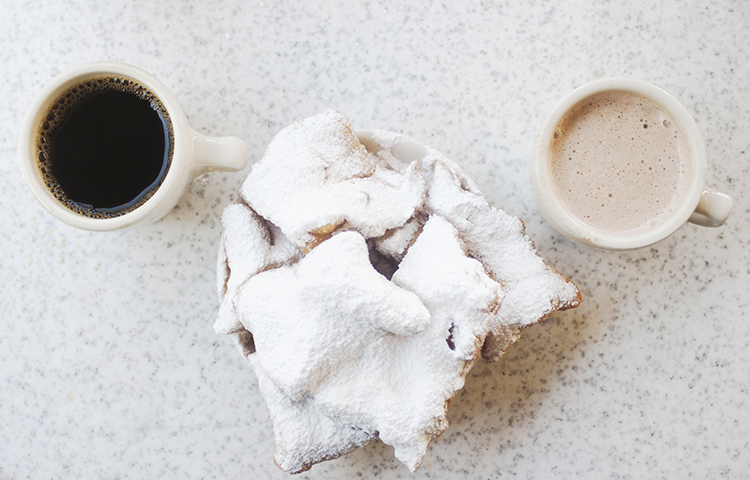 Cafe du Monde,800 Decatur St - Yes, it's super touristy, but you're pretty much obligated to go to Cafe du Monde for beignets. And you'd better be in the mood too because that's all that's on the menu. Despite the amount of icing sugar you can see, I didn't find them to be super sweet because the dough itself isn't sweet (though my measure might be a bit off since I have the sweetest tooth of all time). They're open 24 hours but they're packed all day, so unless you want 3am beignets I'd recommend getting up early and heading there for breakfast.