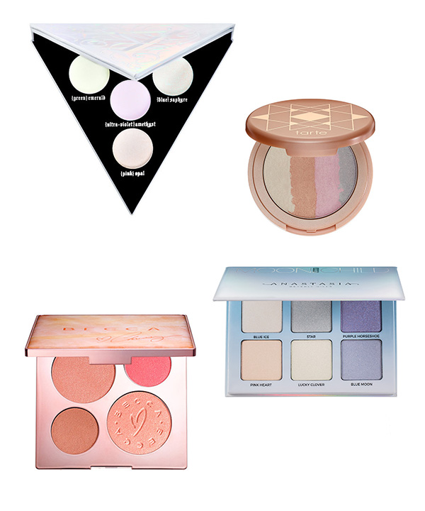 highlighter palettes - I've said before that I'm not crazy about highlighters because I'm glowy enough as it is (read: oily), but I especially don't get the rainbow thing. If you love experimenting with bright shades and wear super colourful makeup all the time, then I can see why the Anastasia Aurora Glow Kit palette might appeal to you, but for the everyday person, who needs a green, blue or deep purple highlighter? I guess there is a market for this palette but it's got to be fairly small, right?In terms of highlighter palettes generally, I know that I use so little product and most people only use one shade each day, so it's the same as a blush palette (which I don't buy because I know I won't use them) - it would just be impossible to ever get through one pan, let alone several of them, so for me I know it would be a waste of money.