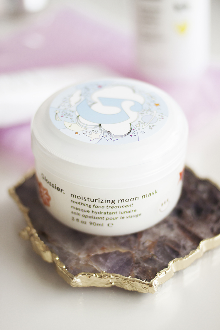 Moisturising Moon Mask - When I left Australia I didn't bring any full-sized masks with me, so choosing a new hydrating one was on my list as I particularly like using them when I'm in the bath or if I'm going on a long haul flight. I don't think hydrating the skin is an overly complex affair, and because it's not a major issue that I struggle with day to day, I didn't want to spend too much, so I thought $22 US (about $28CAD / AUD) for the Moisturising Moon Mask was pretty reasonable.As with the Priming Moisturiser it claims to