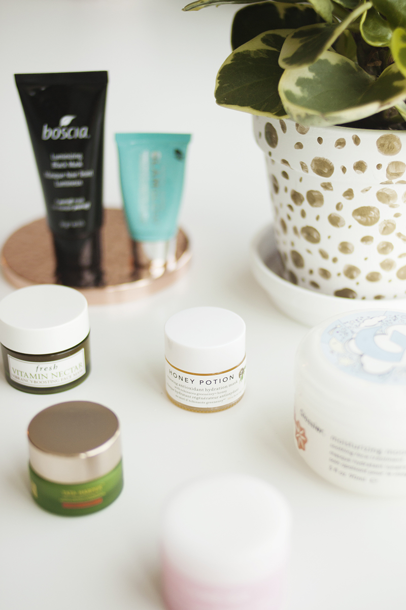 """Clarifying - The vast majority of the time if I'm going to use a mask it's while I'm in the bath. A bubble bath + face mask + 15-20min YouTube video is my ideal way to relax, so if I'm using a clay/clarifying mask that's going to dry down on my face, I prefer something that doesn't dry so much that it makes my skin feel parched when I wash it off. Outside of that preference, I tend to think clay masks are much of a muchness as the key ingredient is always going to be some form of clay. Although some brands like to dress it up by saying it came from the rim of an Icelandic volcano or the bottom of a remote Amazonian lake or whatever, clay is abundant and incredibly cheap and there's nothing really magical about it regardless of where it's from.The way clarifying masks work is the clay absorbs excess sebum as it dries, with the idea that it will pull out dead skin and debris lodged in your pores along with it so you can wash it all away when you're done. Lots of brands claim their masks will """"detoxify"""" the skin, but the idea that the skin stores"""