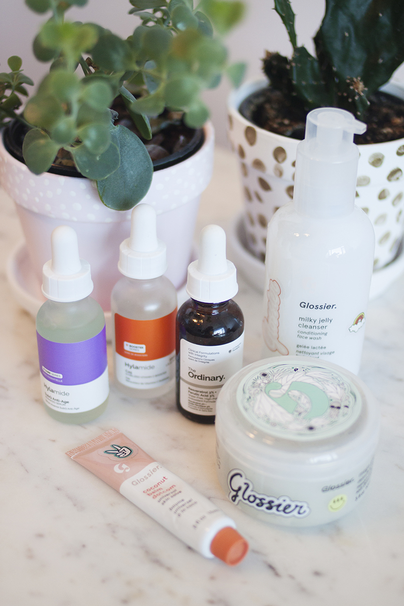 Skincare - A couple of months ago I posted about my skincare routine in detail (Part 1 & Part 2), and since then I've finished up and replaced a couple of products. As I was running low on the Ordinary's Ascorbyl Glucoside 12% I'd planned to replace it with Hylamide's C25 Booster as it's more effective and I prefer it to the vitamin C options available in The Ordinary's current line-up. However, it was out of stock for a while so I picked up the Ordinary's Resveratrol 3% + Ferulic Acid 3% to tide me over in between. I like to always have a vitamin C serum in my routine, and although the Resveratrol + Ferulic product is also an effective antioxidant, I still picked up the C25 Booster when it was back in stock. Vitamin C combined with Ferulic offers an even greater level of protection against free-radicals, so I knew that once I got a vitamin C product back in my routine that I'd just use the two in combination with each other. Speaking of the Hylamide C25 Booster, the founder of Deciem recently sent out an email saying they were able to source an ingredient used in that product at a reduced price, so he passed the savings straight onto the consumer and dropped the price globally, which is definitely something I can respect.Using something in a protective way doesn't necessarily show you instant results, so I can't really tell you if the extra step of using Resveratrol + Ferulic has made a difference in my skin, nor can I say for sure that I'd repurchase it when I run out, but for now I'm happy using it in combination with the C25 Booster, which I think is probably one of the most effective vitamin C products on the market in its price range - especially now that it's even more affordable than ever!