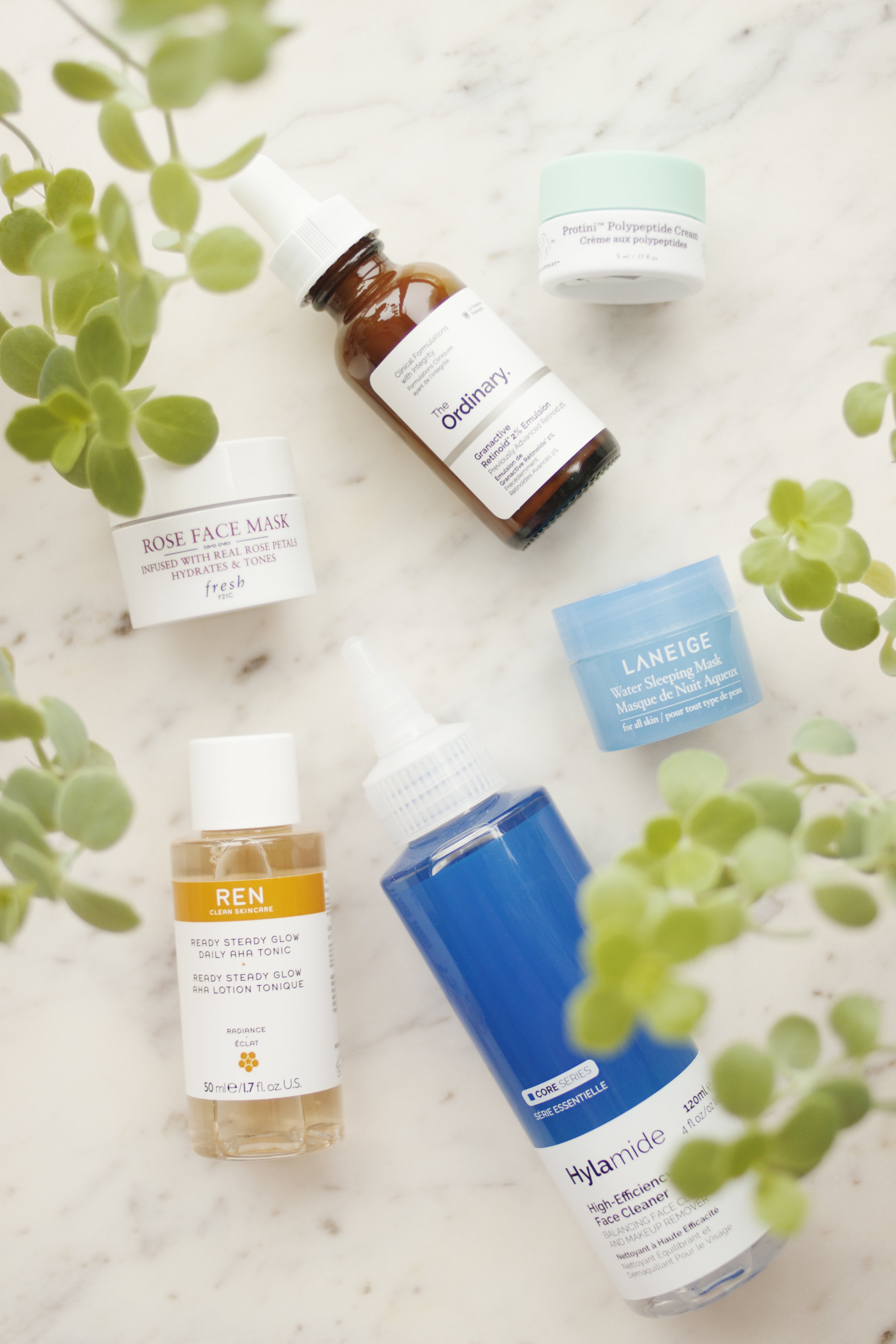 Skincare - The only skincare product I wanted to restock is my retinoind - I'm coming to the end of my bottle of Sunday Riley's Luna (AU), and after spotting it on Sephora I thought I'd pick up The Ordinary's Granactive Retinoid 2% Emulsion (AU) since I've heard so much about it. I've generally had fairly good experiences with products from The Ordinary, and I've heard some people say they love this product while others have had a reaction to it, so I wanted to try it out for myself. I haven't actually opened it just yet but it won't be too long before I give it a shot and I'm very interested to see what kind of results I get from it.The Hylamide High-Efficiency Face Cleaner (AU) came in that Black Friday set I mentioned earlier, and based on the name and appearance of the product, I wrongly assumed this was a micellar water! I was chatting with a friend at work about skincare and when she told me she was using Dr. Bronner's on her face I strongly urged her to go to a Deciem store, and someone who worked there recommended this to her. So a few days later she told me she'd bought a blue cleanser and, knowing I had this in my backups stash, when I got home I pulled it out to take a second look. Turns out it's basically an oil cleanser! In the evenings I can put it on my dry face, massage it around to break down my makeup and then remove it with warm water and a cloth, and all my makeup is gone! I second cleanse anyway because that's just what I do, but this totally took me by surprise because it wasn't what I thought it was at all. So if you're looking for an oil cleanser for your makeup removing step, this one will definitely do the job and I'm a fan!