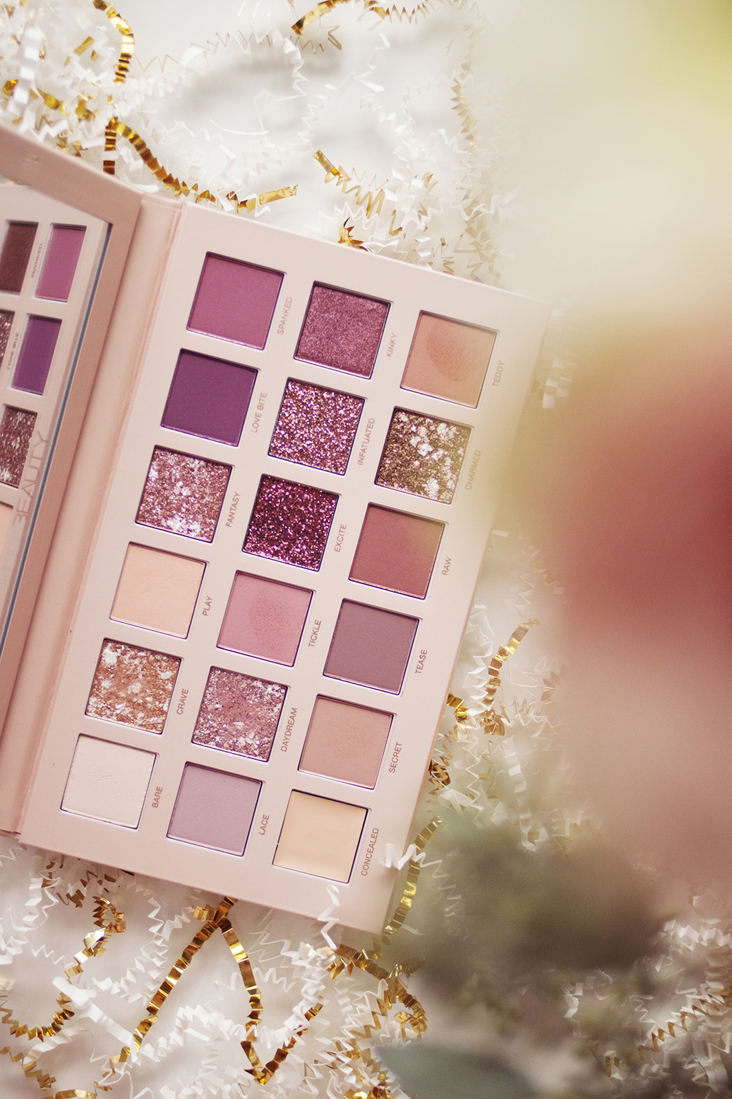 Eyeshadow - If the Charlotte Tilbury duo is the star of the show for my base, for the eyes it has to be Huda Beauty's The New Nude Palette (AU). Oh my god. If you guys remember in my beauty favourites for 2017 I talked about how much I'd enjoyed browny-pink eyeshadows that year, and the obsession has only grown since then. I hadn't been able to find what I wanted in palettes and so resorted to only buying single shadows this year as they were all I could find to scratch my itch. There are lots of palettes out there with berry-pink shades, but as a neutrals-lover at heart, everything I had seen was too colourful or too dark, or only contained one shade that I really wanted. As soon as I saw photos of this online I knew it was the answer to my prayers.This palette contains 18 shadows, 10 of which are mattes. Neutral-brown-pink mattes are what I've been looking for, and of the 10 in this palette I could use 8 of them without even thinking about it, and the two deeper shade at the end of the top row are the only ones I'm a little more intimidated by. But there rest are PERFECTION. They're exactly what I've been looking for and I feel like I have so many options with this palette that I have a hard time choosing which shades to go for, which is a rare feeling for me.The palette contains one cranberry shimmer shade which I've used but probably won't reach for all the time, as well as two deep pink pressed glitters. I'd prefer if one of these were more of a champagne shade or a lighter pink as they're very similar and we probably didn't need both. There's also a creamy primer (the first in the bottom row), which is a nice inclusion that makes the palette a little easier to travel with. I raised an eyebrow at the shade choice at first, but it's a very sheer formula so it should still work across quite a range of skin tones, but it's by no means universal.