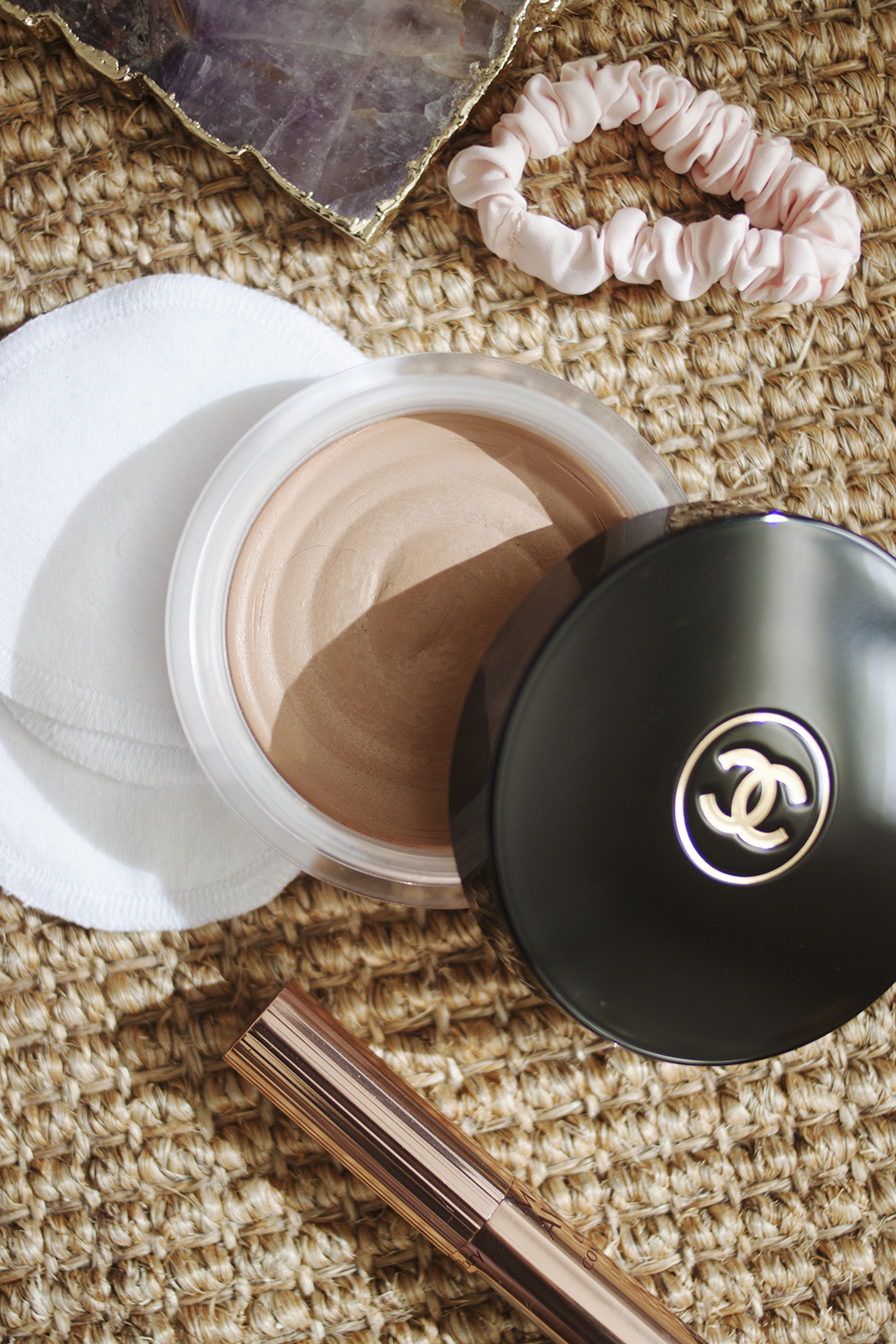 - I mentioned in my makeup favourites for 2018 that I'd finally fallen in love with bronzer, and while I didn't have this product with me while I travelled in Feb/March, I've used it every day since we've been reunited and I'm absolutely obsessed. It's the Chanel Soleil Tan de Chanel, and if you've been a part of the online beauty community for a while, you may remember everyone hyping this up as far back as 2013 (possibly even earlier). This still gets the occasional mention today, and as someone who has recently started using it, I can confirm that it's just as beautiful as everyone has always said.I had some Shoppers Drug Mart points to use up before we left Canada, so this is one of the things I picked up, and it's just such a pleasure to use. I apply it with large fluffy brush and melts into my foundation seamlessly, while adding a beautiful warmth to my skin. The biggest drawback of this product is the fact that there's only one shade, which has always been a problem especially if you have deeper skin. Personally, I was worried it was going to be too orange on my fair skin, but I tend to be pretty light-handed with my bronzer, so I absolutely love the way this looks and I find the shade looks really natural on me. If you're even fairer than I am, I'm sure you could still make it work by applying it underneath your foundation, but I personally don't feel the need to. For some reason I can't find it on David Jones' website so I had to link to a retailer I've never used, but I'm sure they would have it in stock at a counter if you're interested in trying it out.