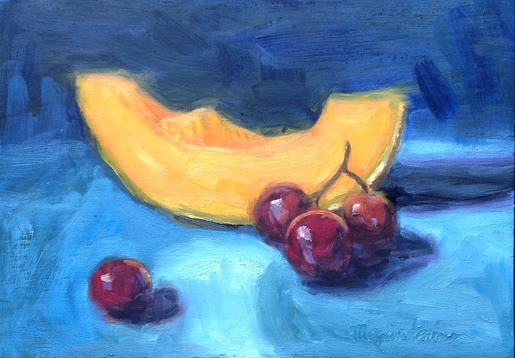 Fruit in the Blue