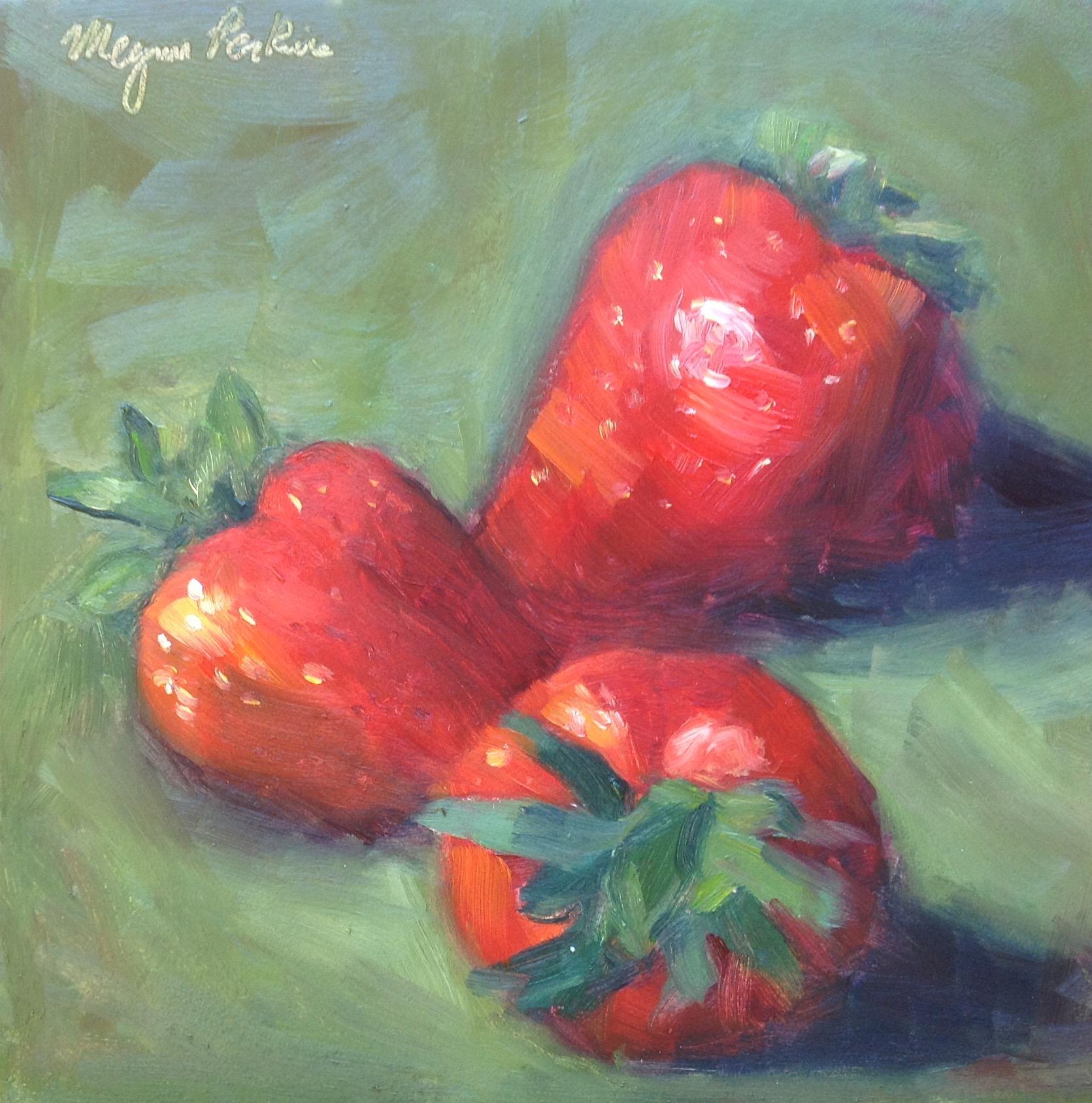 Strawberry Trio