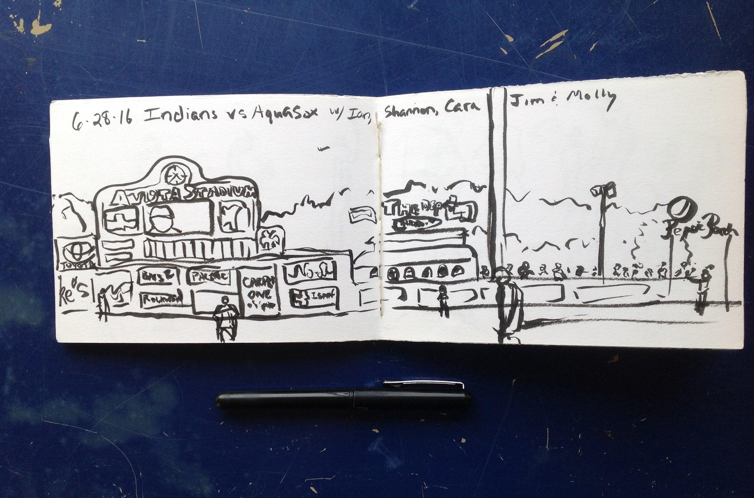 avistastadium sketchbookpage