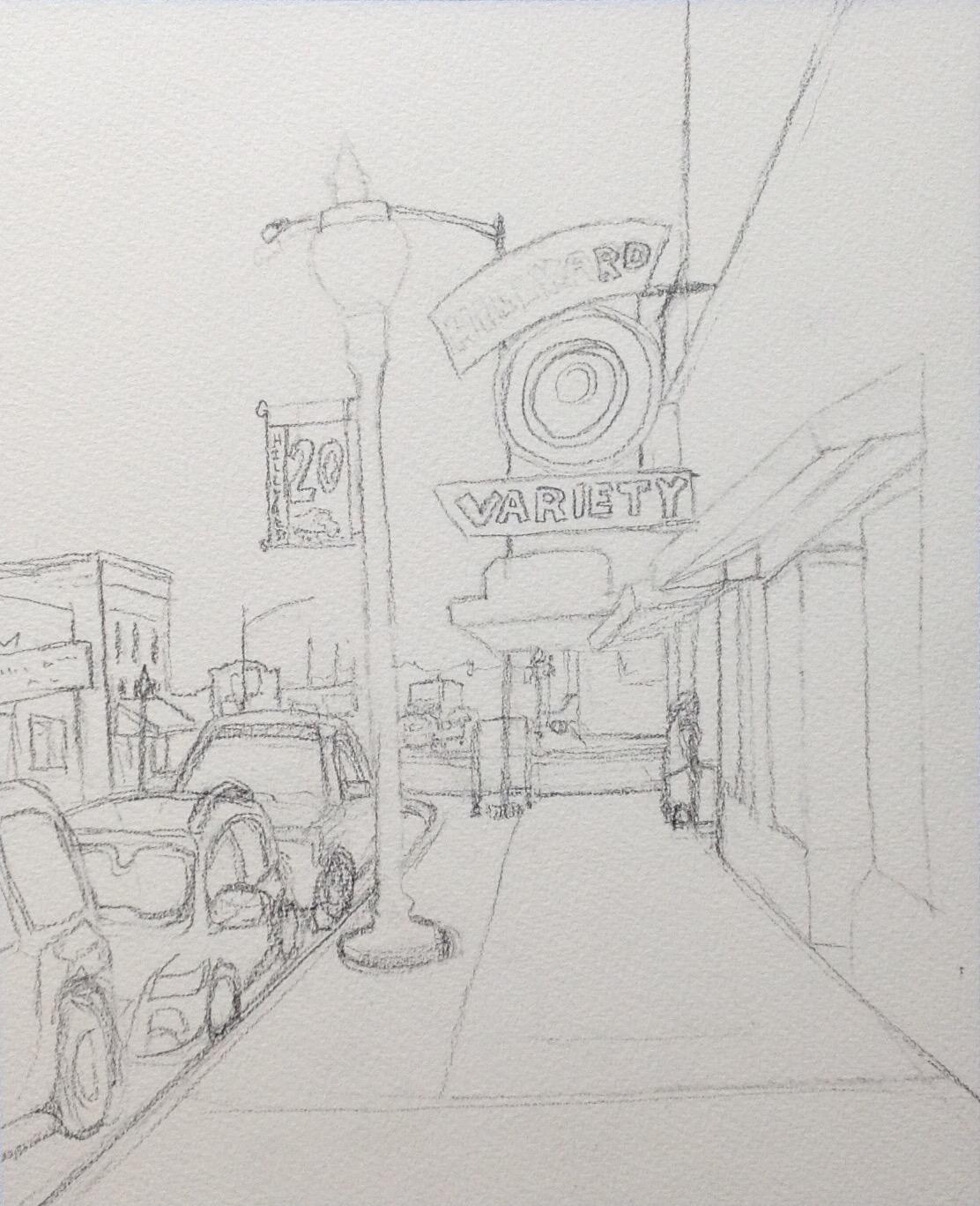 Initial Drawing.