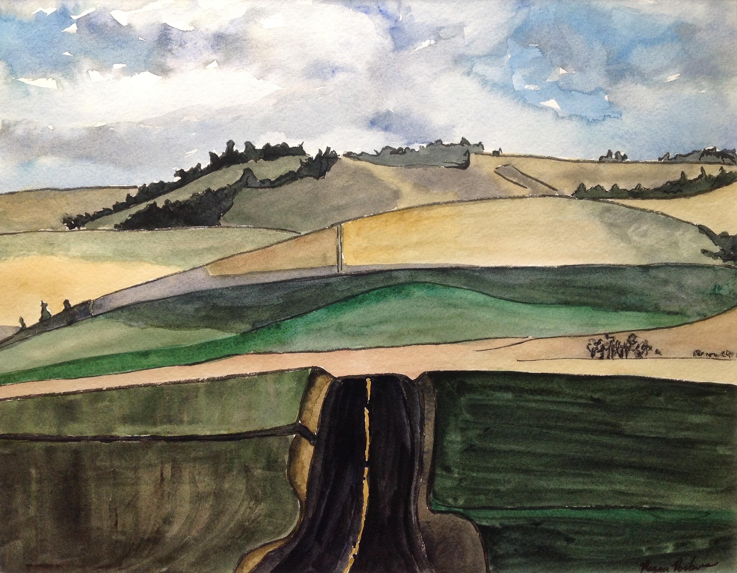 Road Into Hills