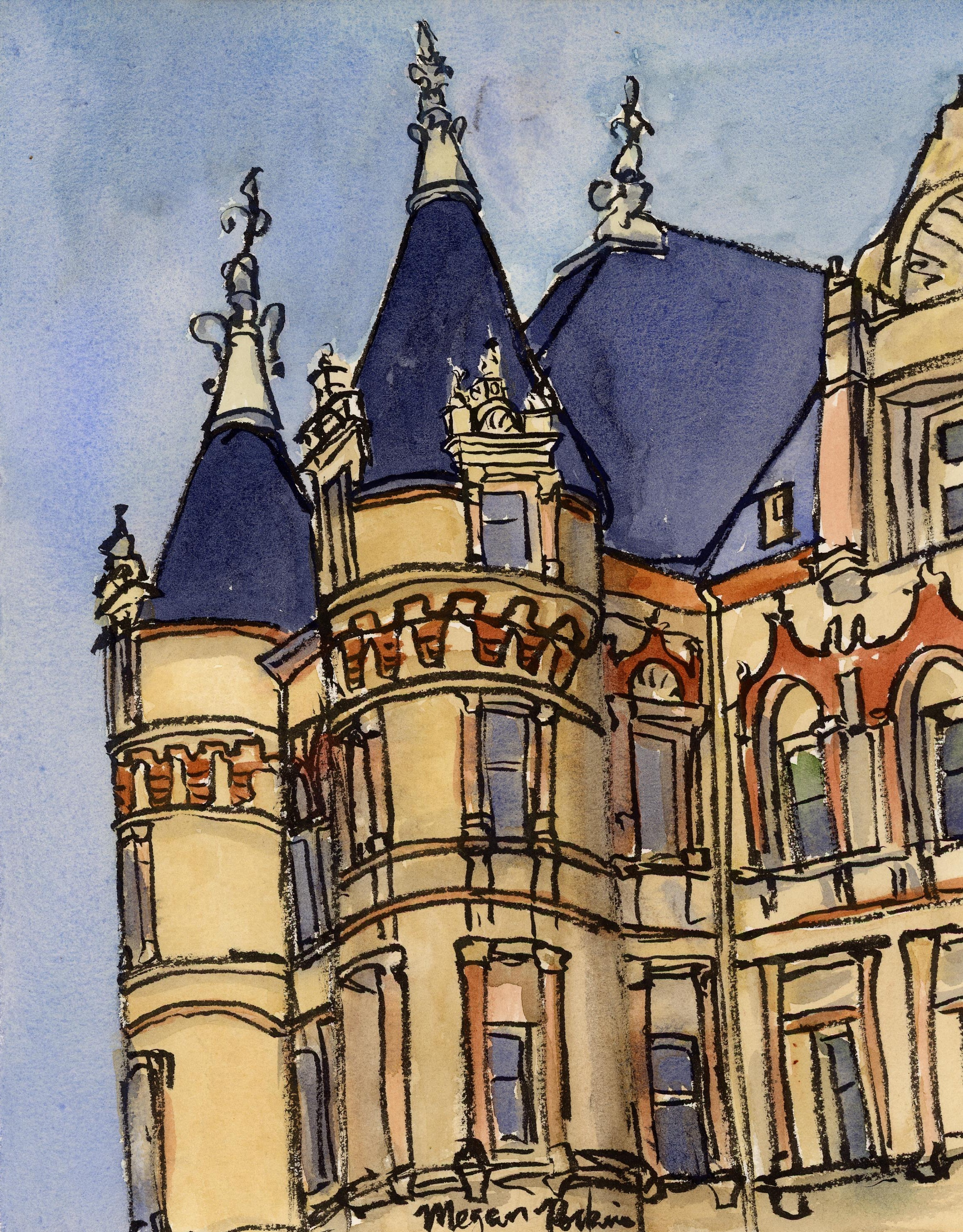 The magical castle of paperwork-the Courthouse!