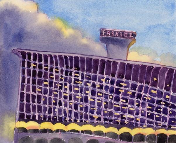 Purple Parkade