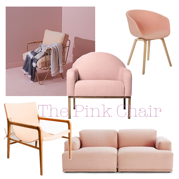 The Edit. (Clockwise from top LHC)  Bastille & Sons ,  Click On Furniture ,  Hay Design ,  Muuto  (dream lounge) and  Barnaby Lane Leather Chair .