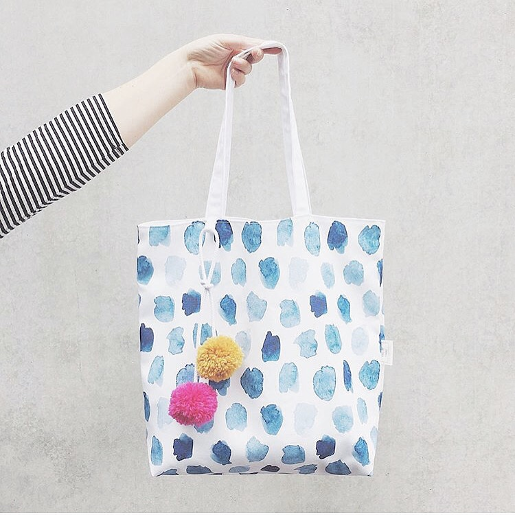 The Pom Tote from Made By Frank.