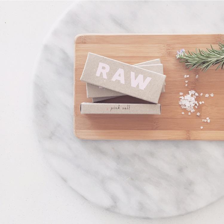 Pink Salt from Raw Chocolate.