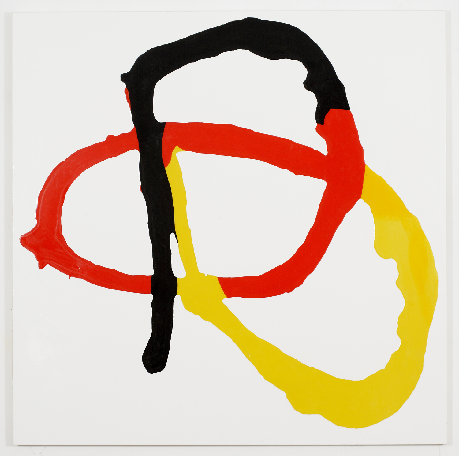 Untitled Red Yellow Black