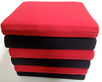 cushion Dr.ex, red and black color cover