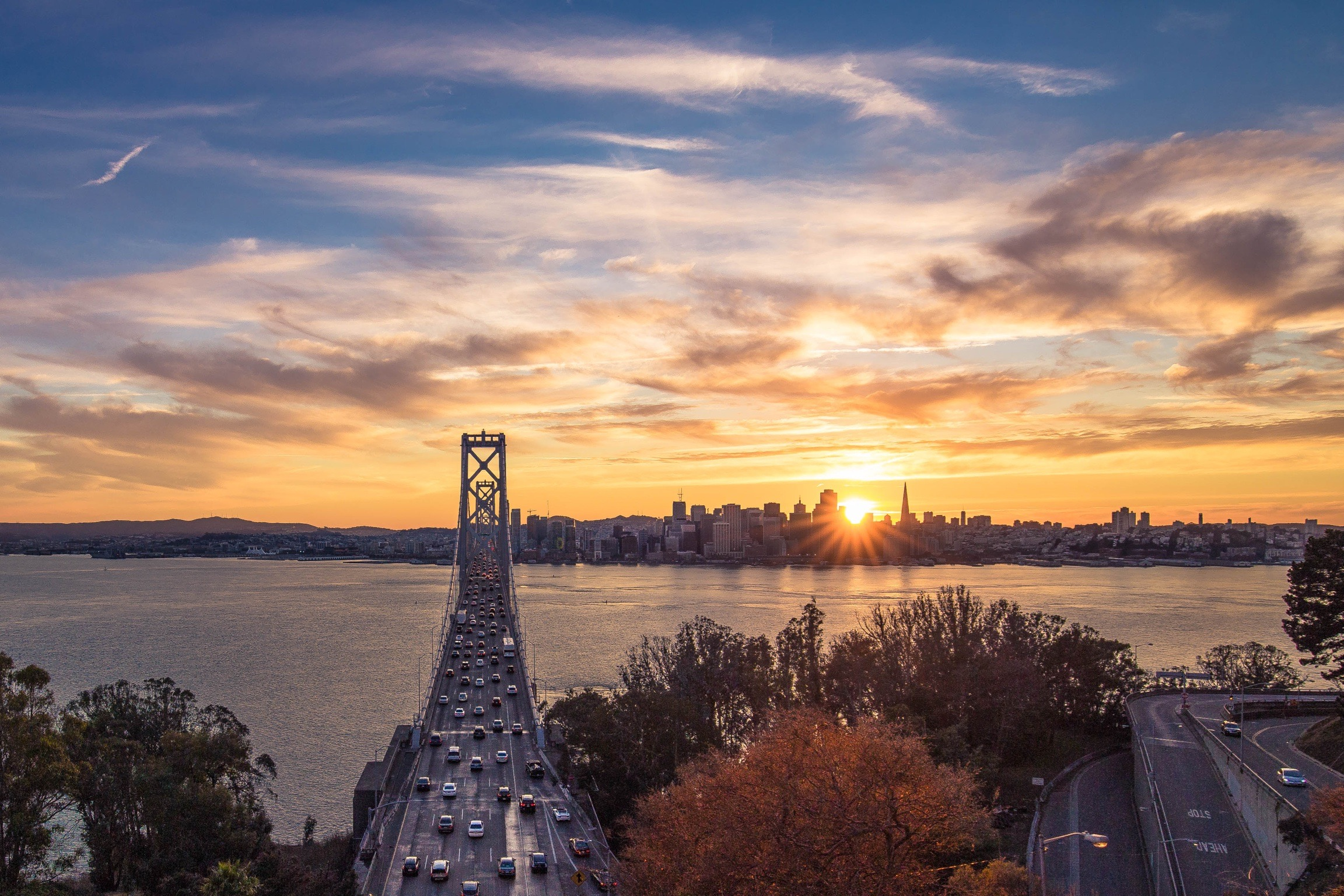 san-francisco-bay-bridge-sunset
