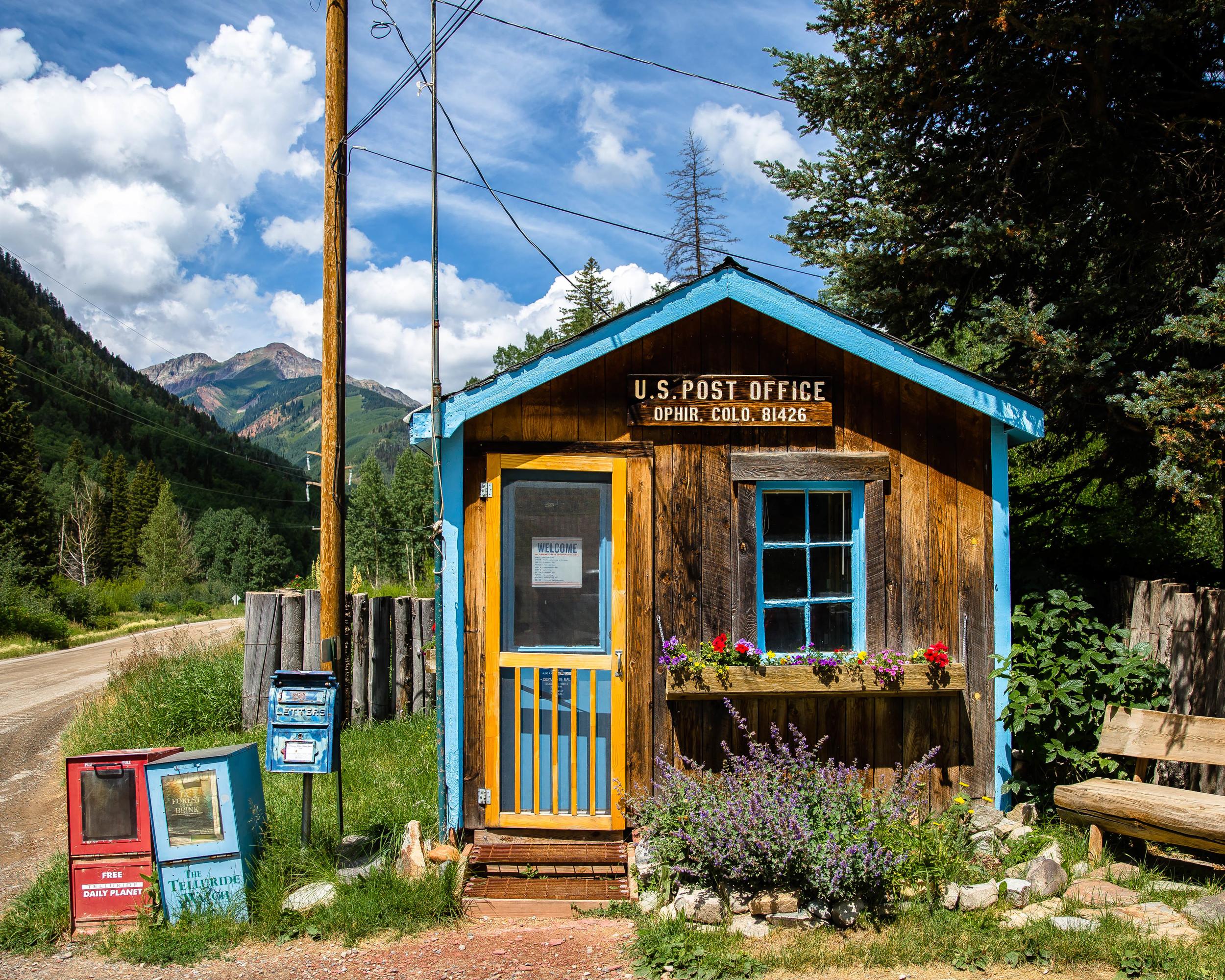 Ophir, Colorado Post Office