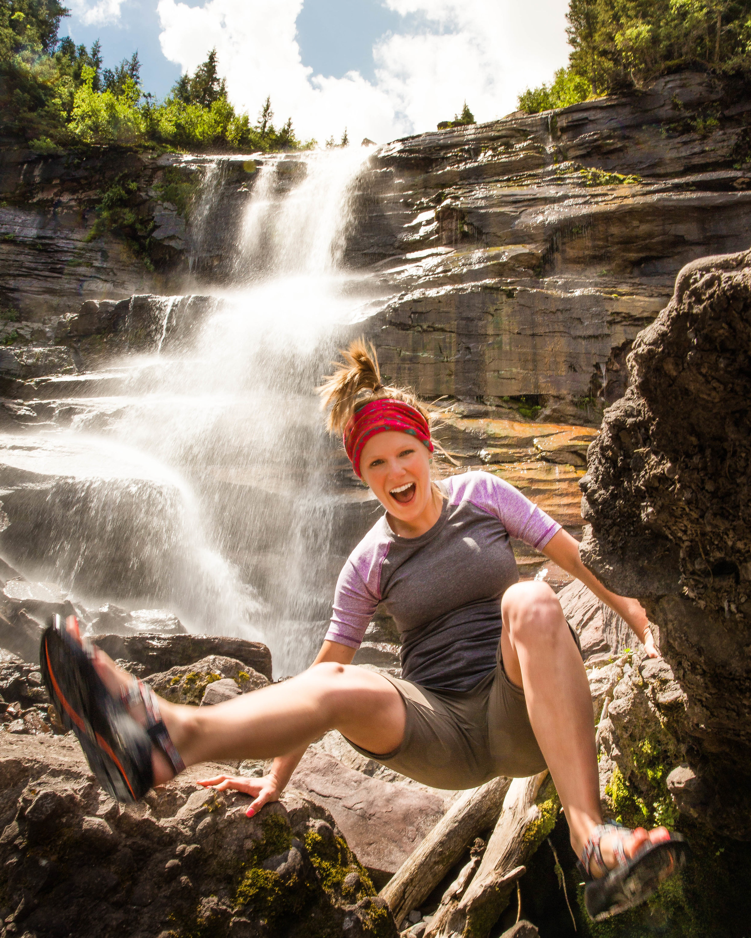Brittany at Bear Creek Falls