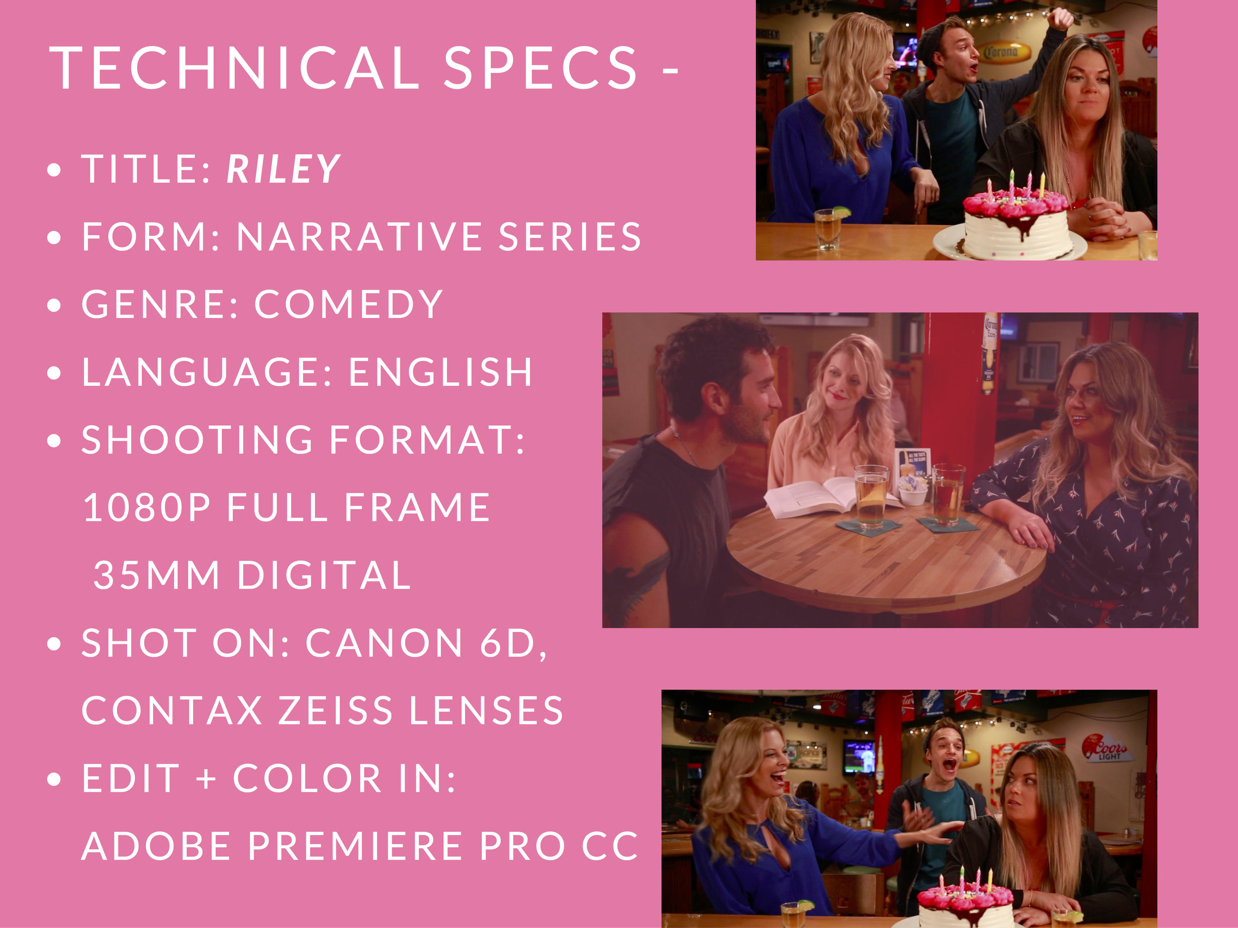 RILEY PRESS KIT - PAGE 13   (   technical specs   )  - CLICK FOR HIGH RES JPEG