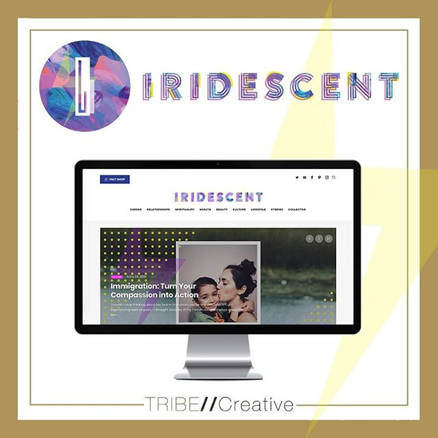 We love getting to work with brands committed to empowering women! We had so much fun doing the branding and web design for Iridescent – @Iridescentwomen is an online platform (www.iridescentwomen.com) and community for young women committed to awakening the brilliance within each other one real conversation and true contribution at a time. #ClientLove #EmpoweredTribe