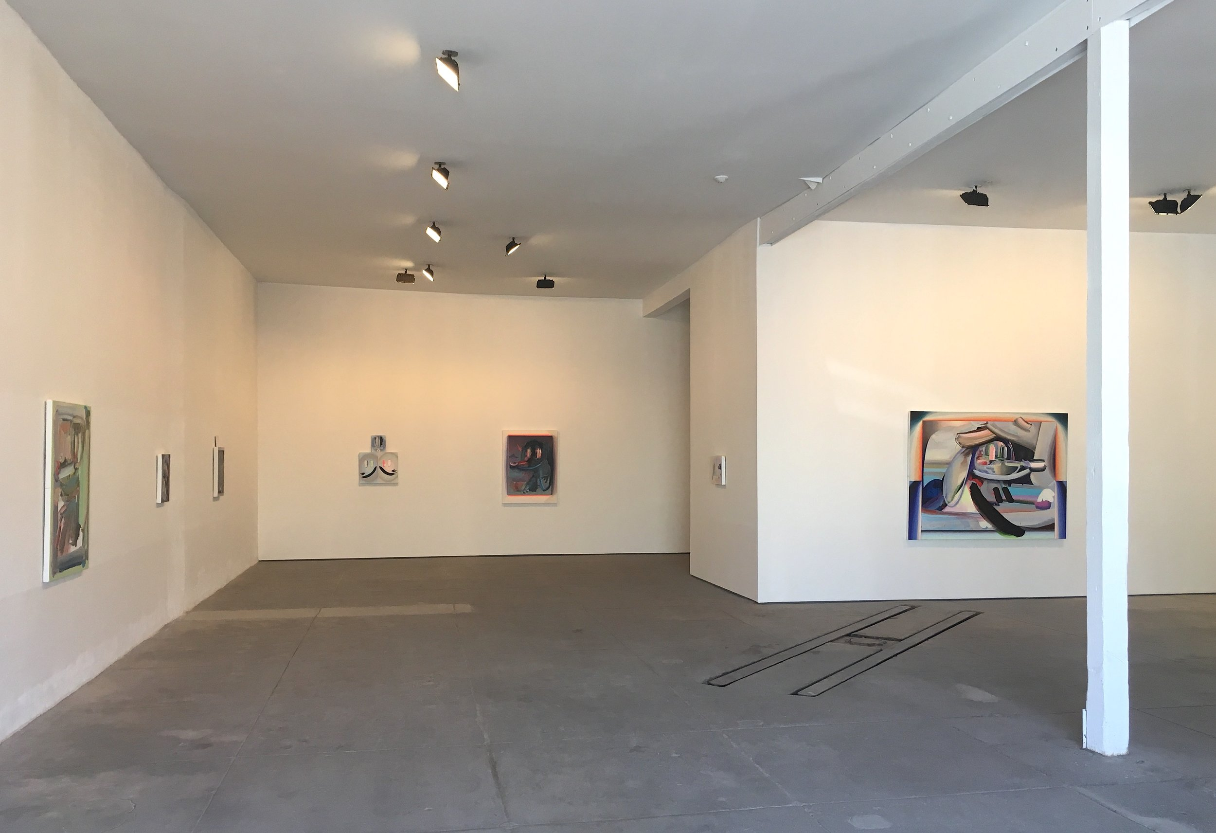Installation view: RAYCHAEL STINE,  How Now Snarly Yow , October 2017