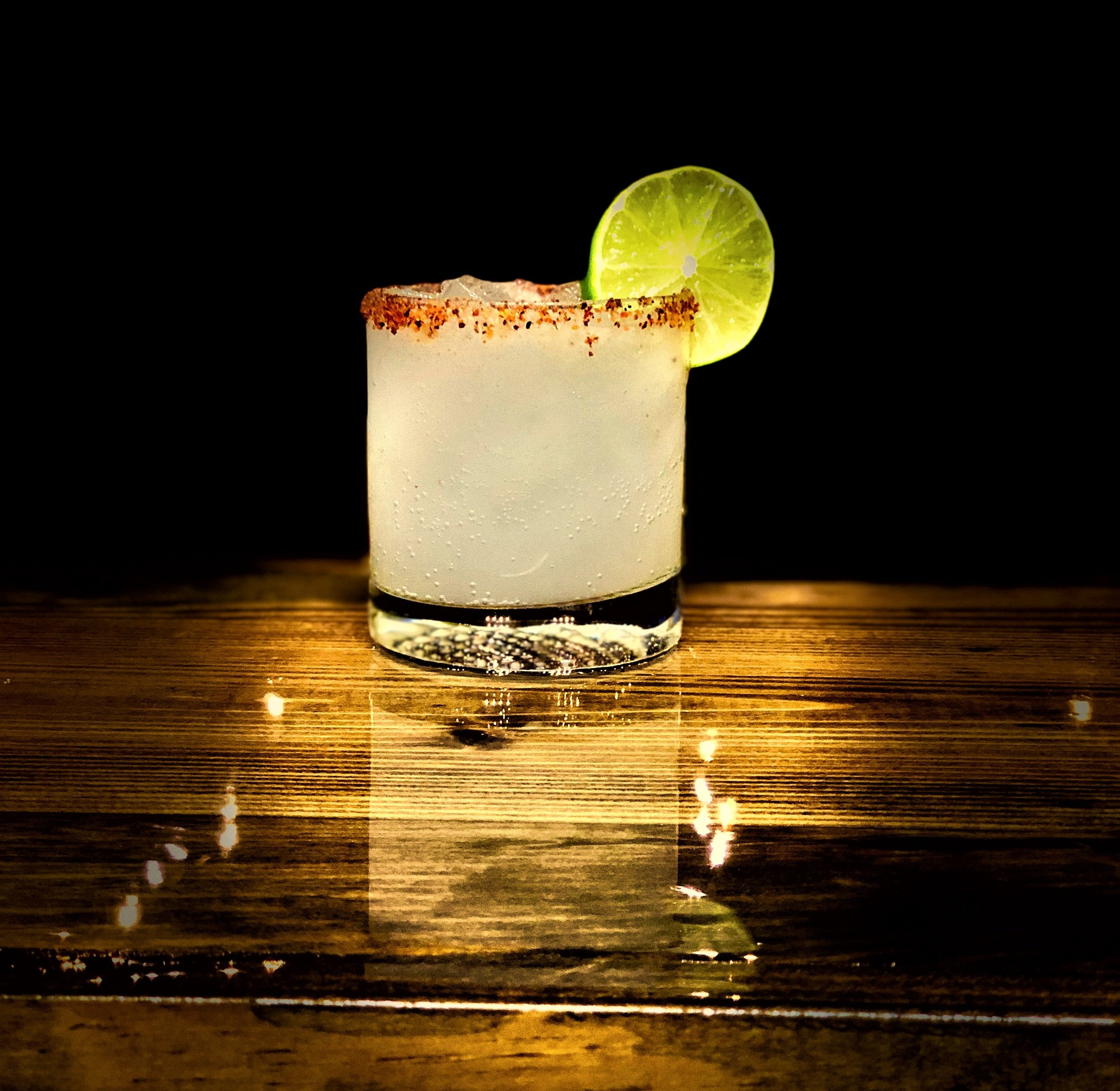 THE PONY EXPRESS  1.5 ounces of a mini bottle of Wild Rag Vodka or Wild Rag Mesquite Bean Vodka 1/2 ounce fresh squeezed lime juice Dash of salt 3 - 4 ounces Grapefruit Soda  Pour all ingredients into a rocks glass rimmed with spicy or lime salt filled with ice and garnish with lime.