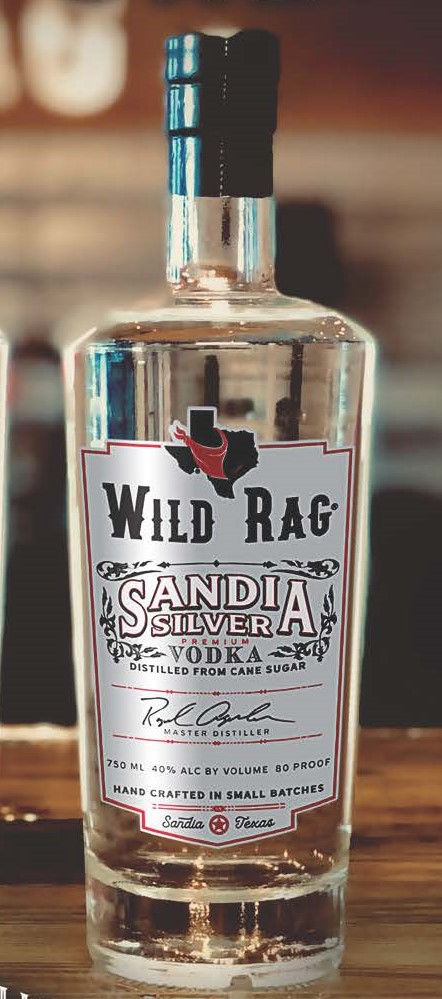 Wild Rag® Sandia Silver Vodka - Wild Rag Sandia Silver Vodka is masterfully hand crafted and column distilled in small batches. Everything is done in-house and hands on. The Distiller himself takes the entire Vodka run - from fermenting, to stripping, then distilling, to blending, and filtration – while continually examining his Vodka for excellence. The Vodka is only bottled when he has achieved the highest quality vodka. Prod. June 2016.750ml | 40% Alc by Vol | 80 Proof50ml | 40% Alc by Vol | 80 ProofDistilled from Cane SugarGluten Free