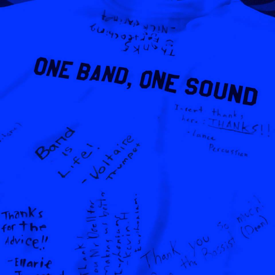 Grade 10 Urban Band Retreat 2015.  #bandislife #onebandonesound