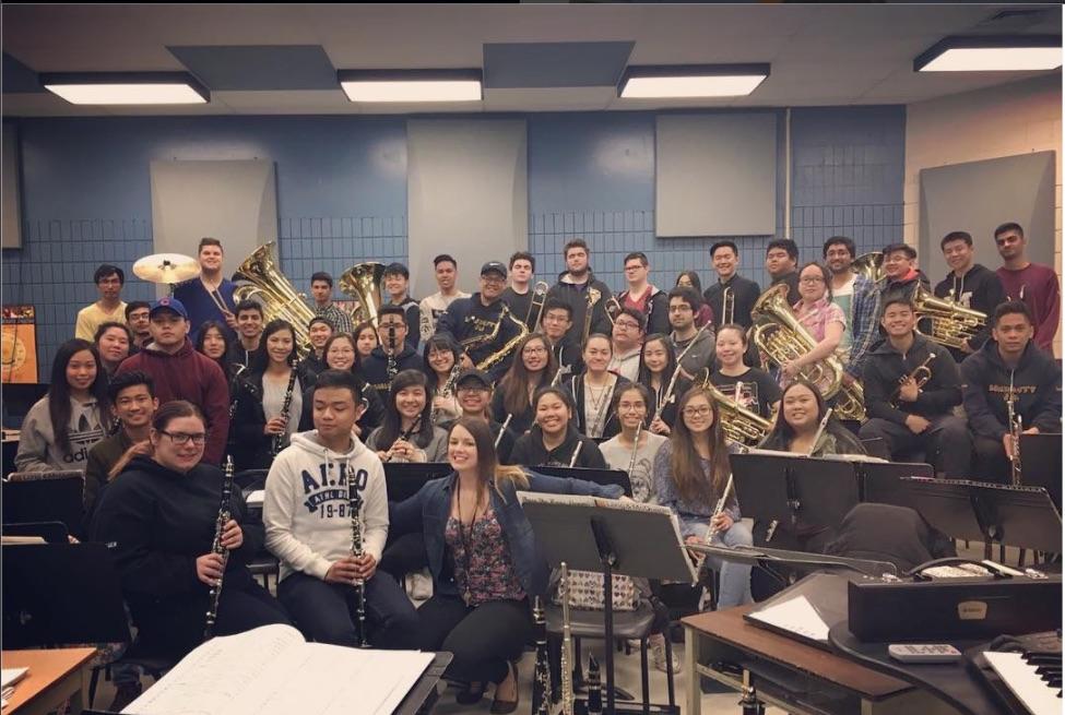 Grade 12 Band 2017! Good Luck on your future endeavours! We will miss you!