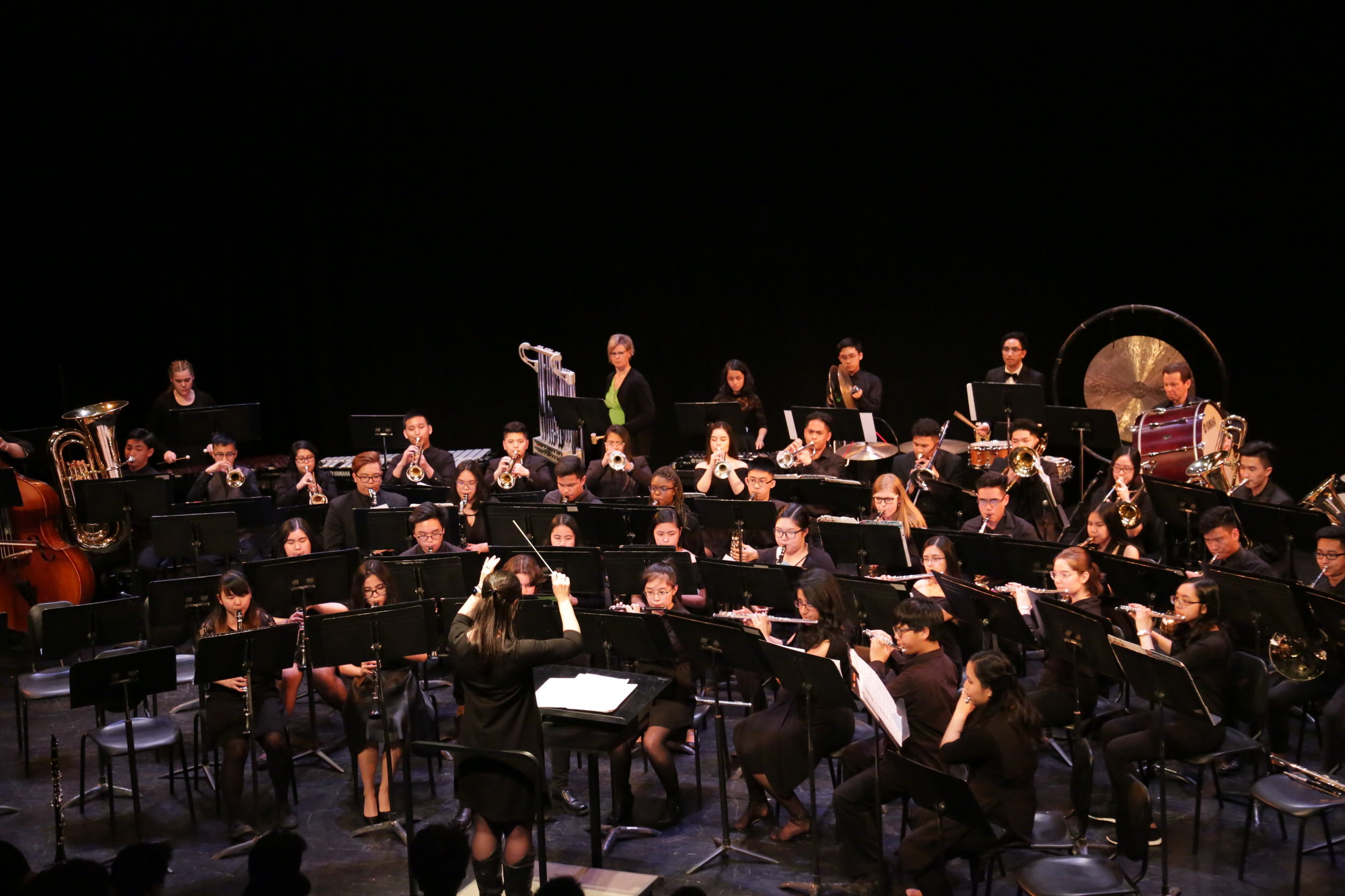 Wind Ensemble in Banff 2018