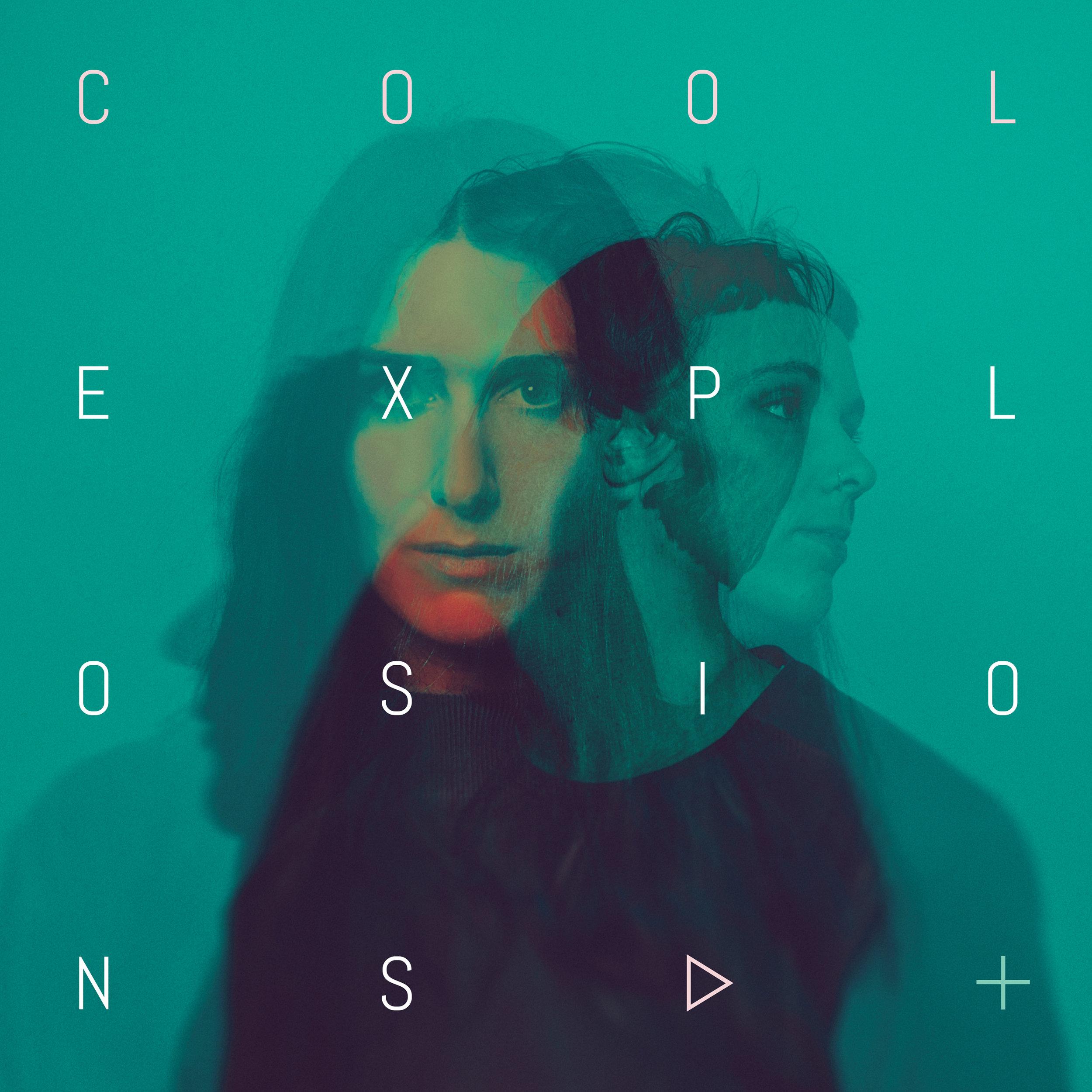 Cool Explosions Debut Album sleeve art