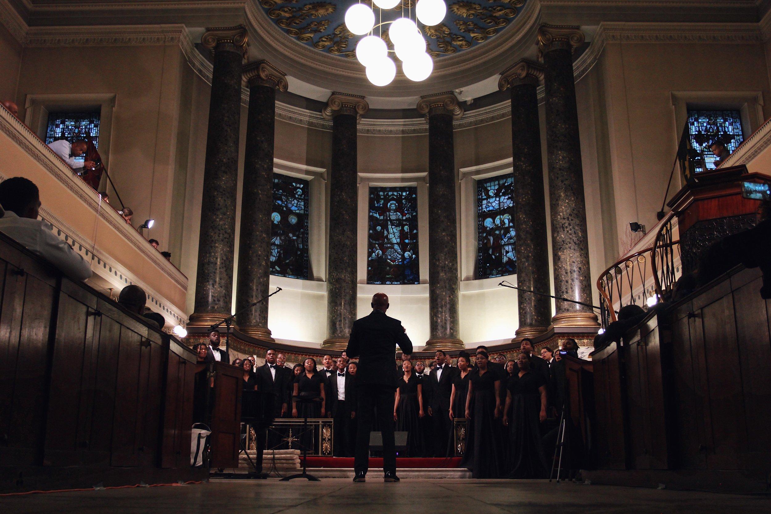 Oakwood Aeolians in London 2017 - One Sound Music