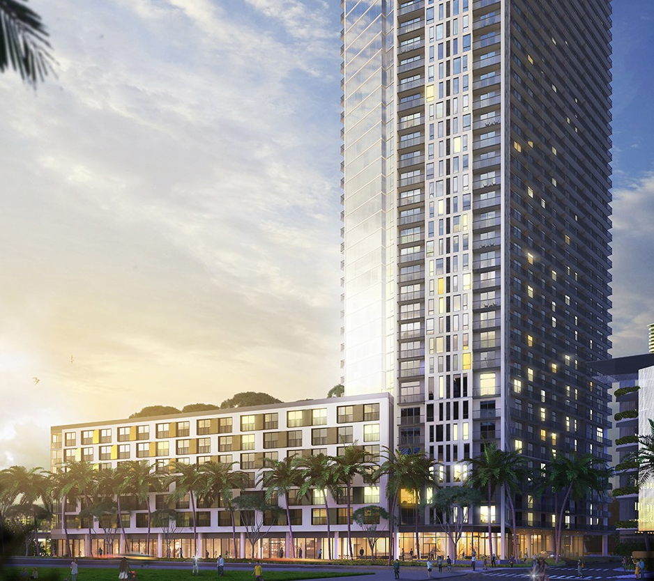 NEW WARD VILLAGE PROJECT: AALII   Estimated completion: 2020