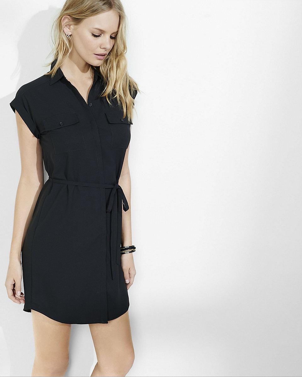 Pocket Shirt Dress