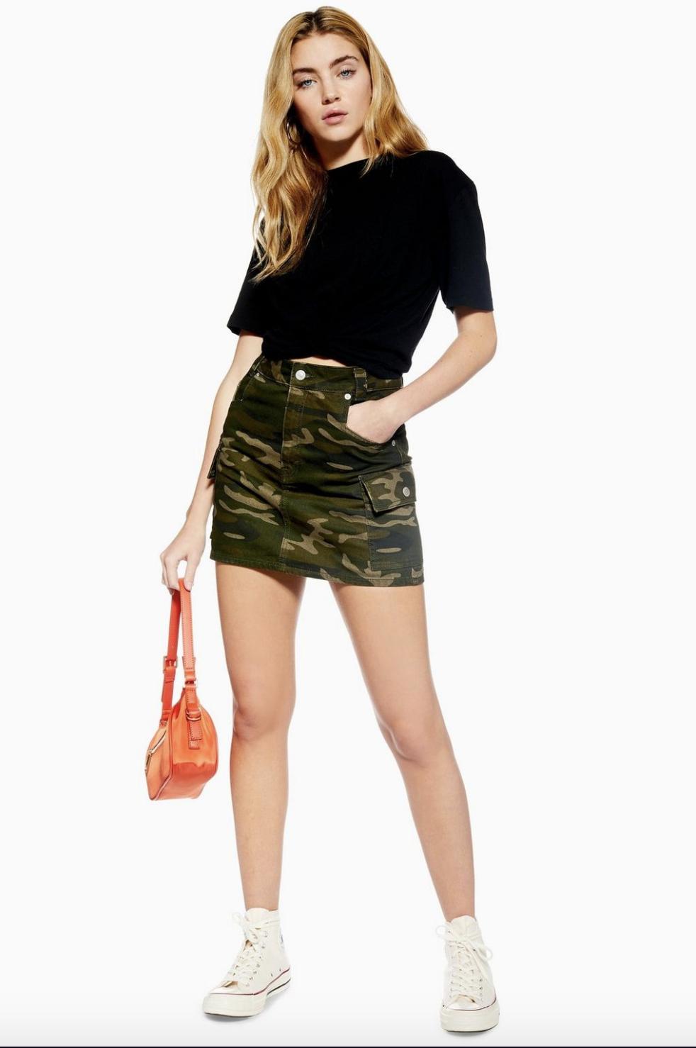 TopShop Denim Skirt $60