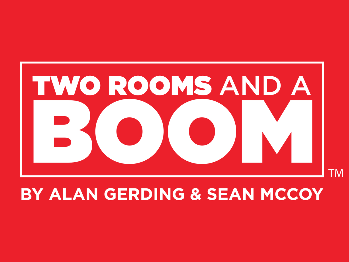 Two Rooms and a Boom!  The party game that's always a blast.  Buy now!