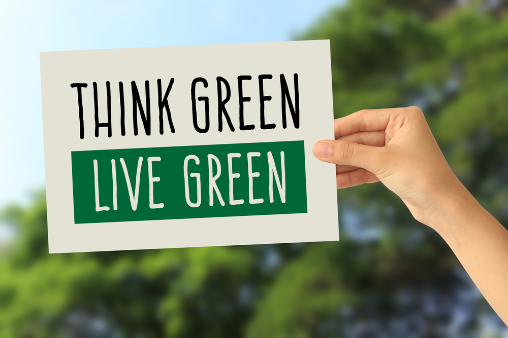 green living sign