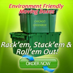 Chicago GreenBox Recyclable Moving Boxes