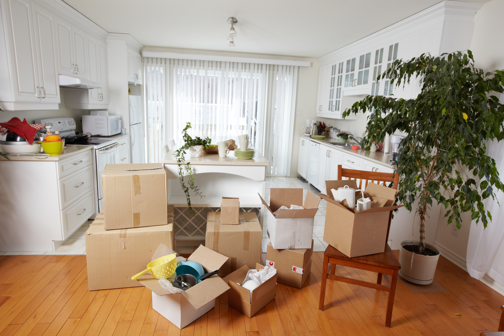 packing up and moving the kitchen last