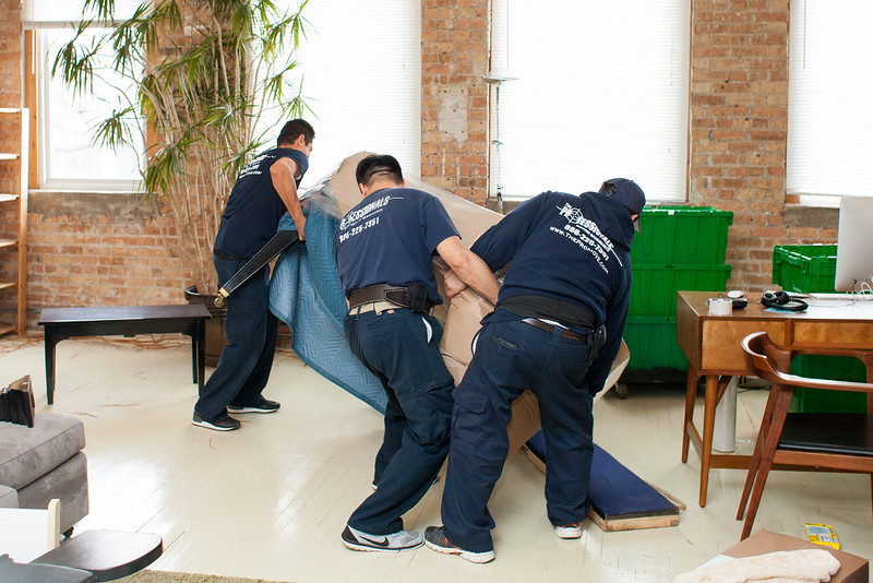 green moving with Chicago's Best Moving Company