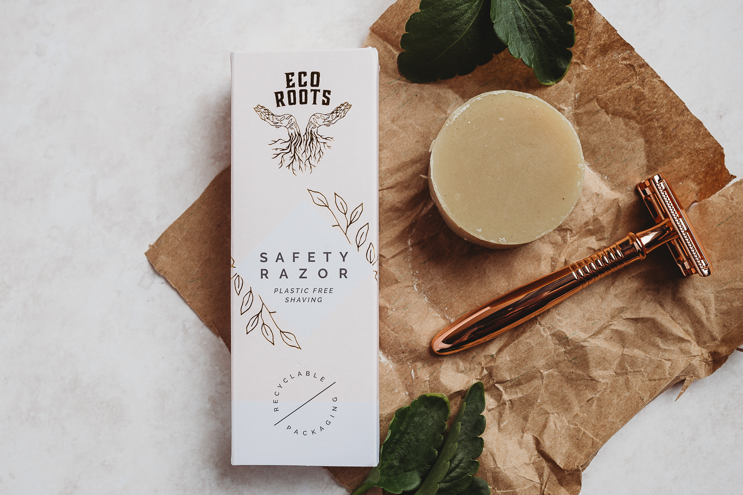 Safety Razor for sustainable shaving by EcoRoots
