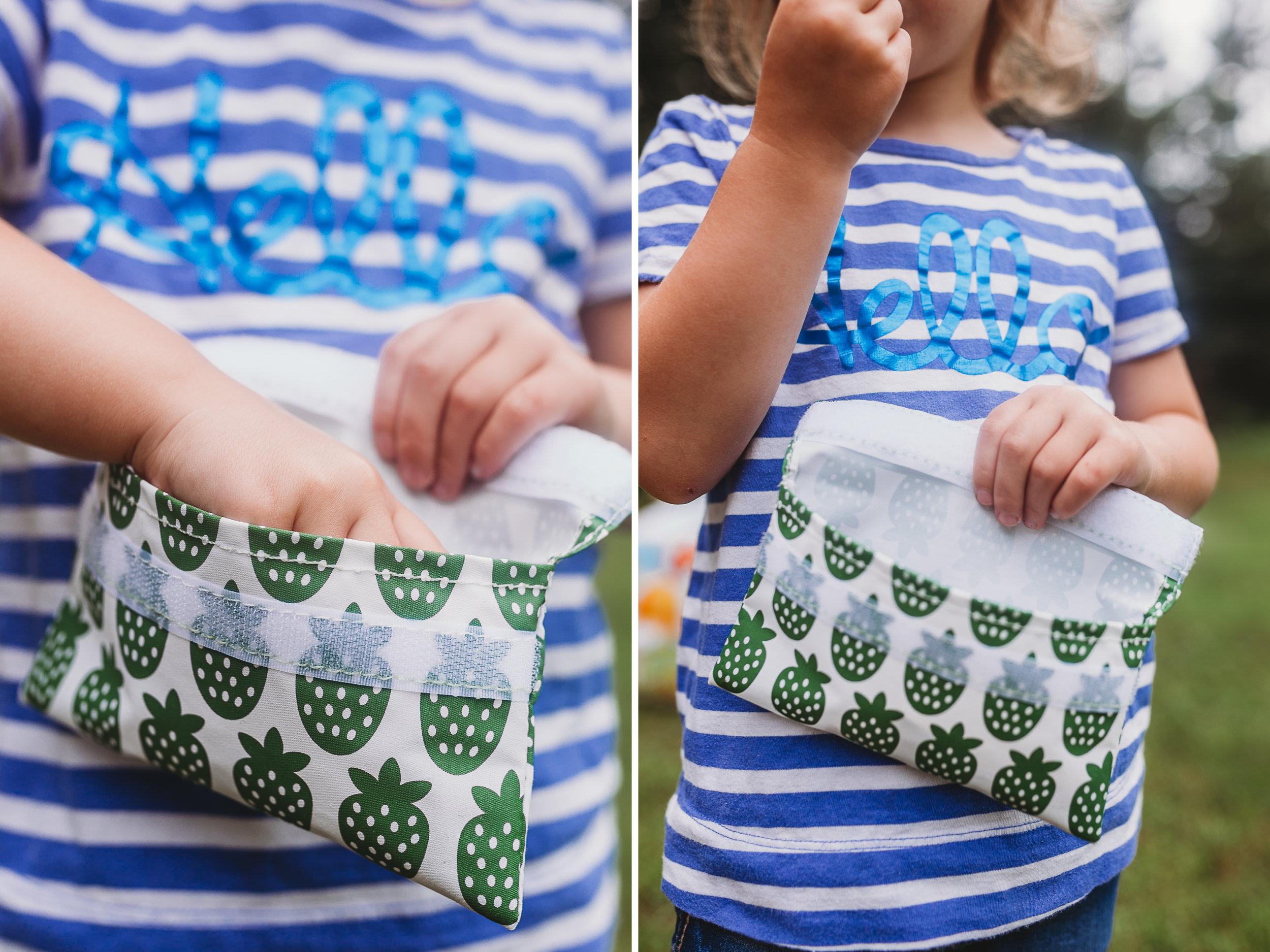 Lunchskins reusable snack bag for kids