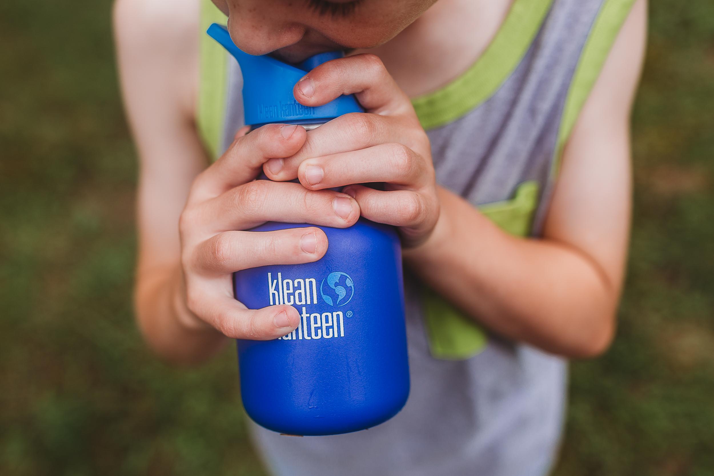 Klean Kanteen Eco-Friendly Water Bottle in Blue