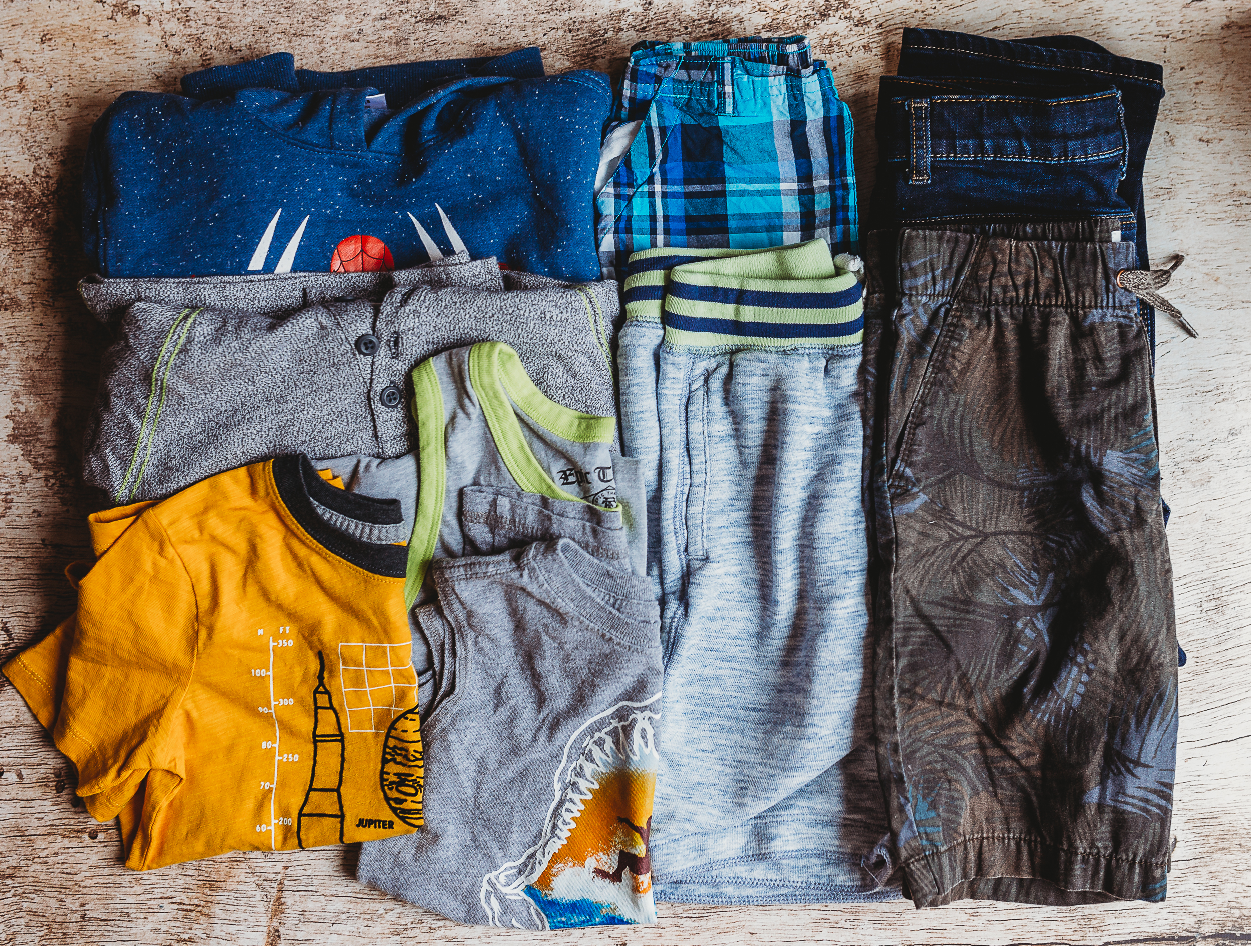 Kids clothing subscription box, Kids on 45th