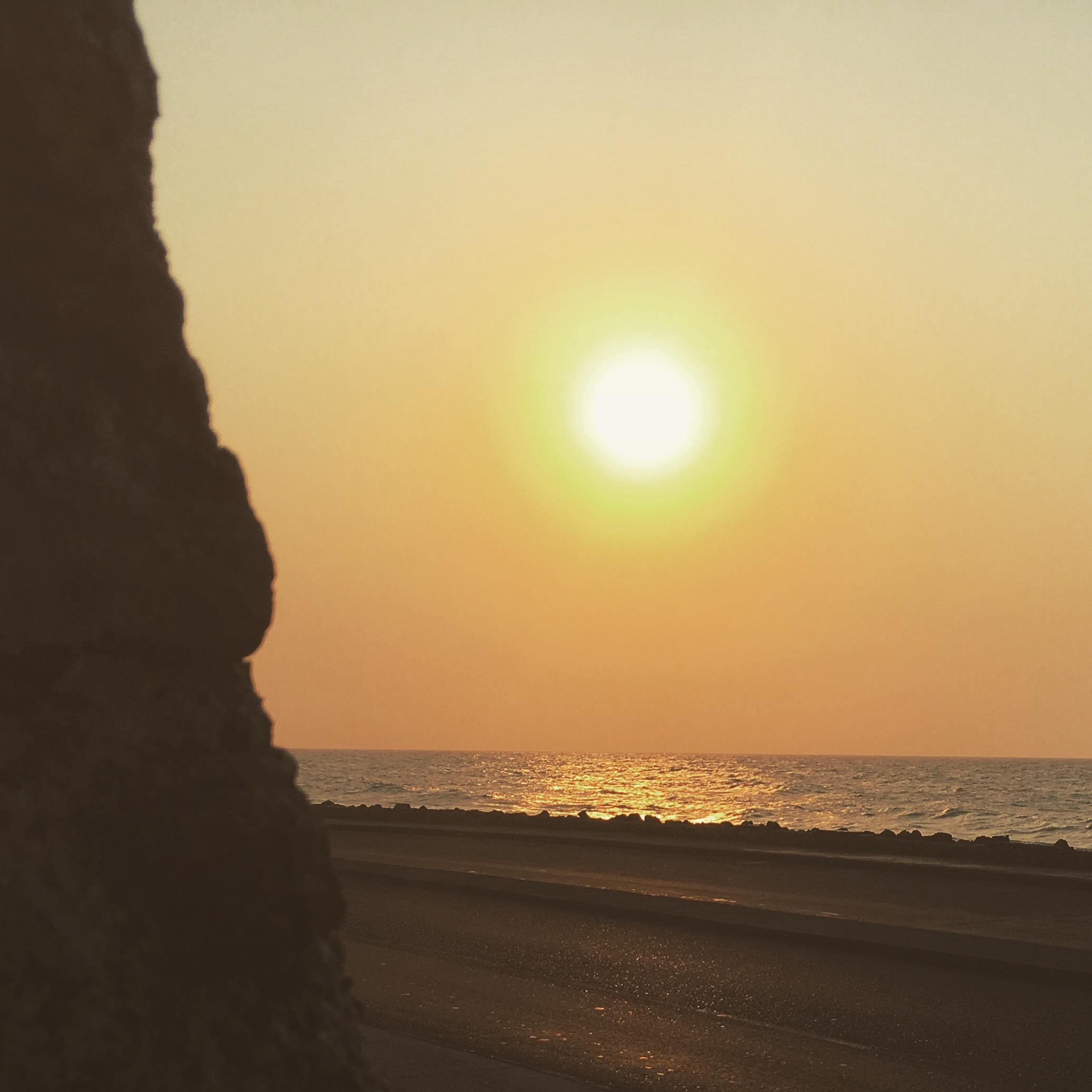 Sunset watching, my favorite activity.