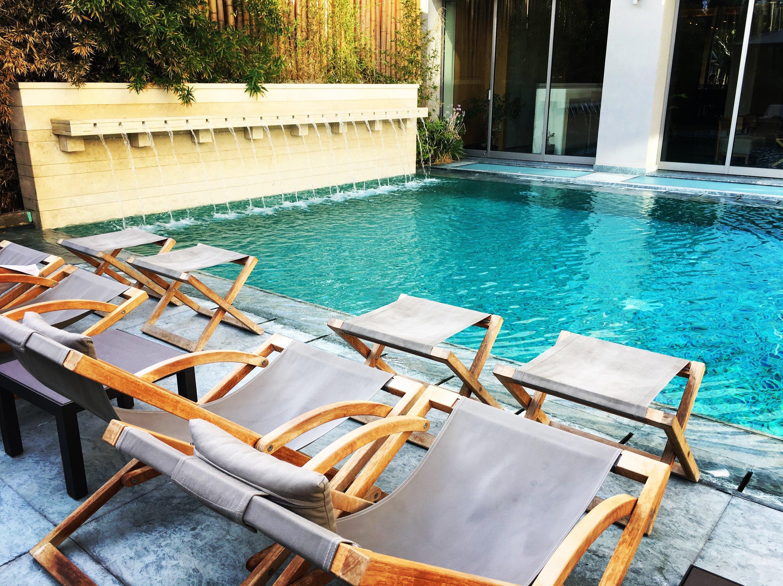 Pool at Samaria Hotel